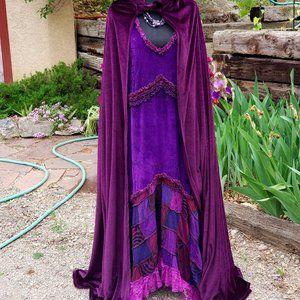 Festval/Renassaince Dress & Cape